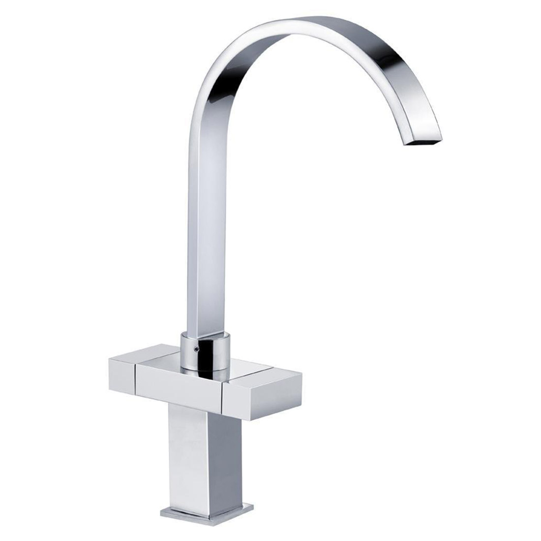 Elegant Design Sink Water Tap 2 Hands Mixer With Double Control Knob for Kitchen Bath Washbasin