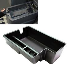 JEAZEA Central Armrest Storage Box Tray Storage Holder For Mitsubishi Outlander SPORT RVR ASX 2010 2011 2012 2013 2014 2015