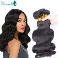 Cheap Cambodian Virgin Hair Body Wave Wavy Human Hair Extensions 3 Pcs/Lot Natural Black 8-30 Inch Cambodian Hair Bundles