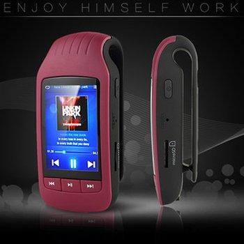 1037 Clip MP3 Music Player 8GB Mini Clip Bluetooth mp3 player