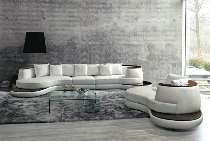 Sofas for living room with corner sofa leather for modern for Divani soggiorno moderni