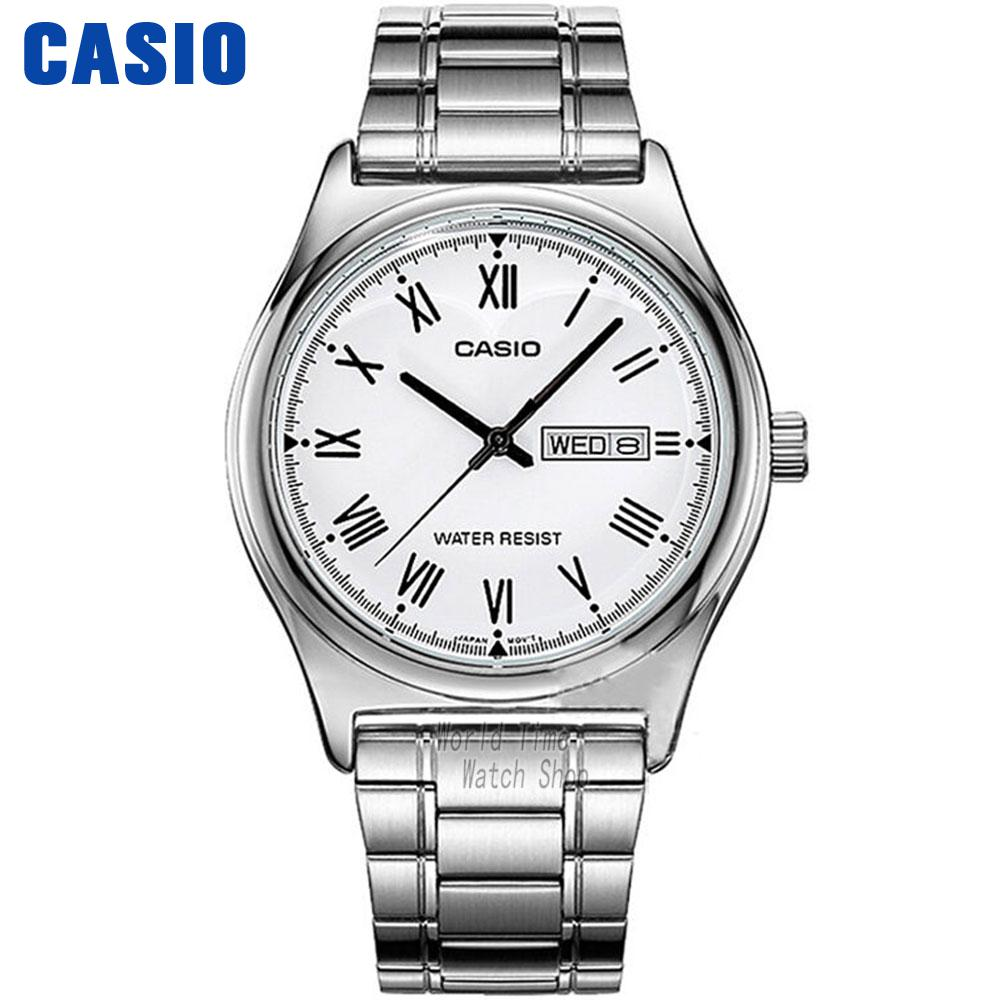 Casio watch Simple fashion watch waterproof leisure business male watch MTP-V006D-7B MTP-V006GL-9B MTP-V006D-1B MTP-V006L-1B casio mtp v001sg 9b