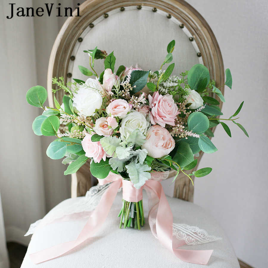 Flowers for Backyard Wedding Silk Bridal Bouquet Colorful Spring Flower Bouquet Ready to Ship Summer Wedding Bouquet Set