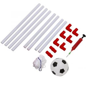 Image 3 - 106/120cm Indoor Outdoor Mini Children Football Soccer Goal Post Net Set with Ball Pump Kids Football Sport Toy Official Size