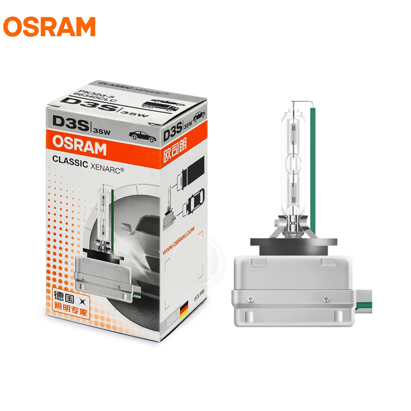 1X OSRAM D3S 66340CLC 35W 4200K CLASSIC Xenon HID OEM Headlight Germany OEM Bulb Original Car