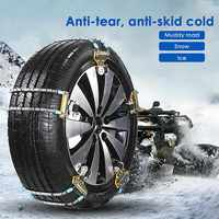 1Pc Car Universal Metal Winter Tyres Wheels Snow Chains For Cars Suv Car Styling Anti Skid
