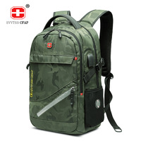 Large Capacity Backpack Women 17 Inches Laptop Notebook Back Pack USB Waterproof Travel Men Back Bag Camouflage Bagpack Mochila