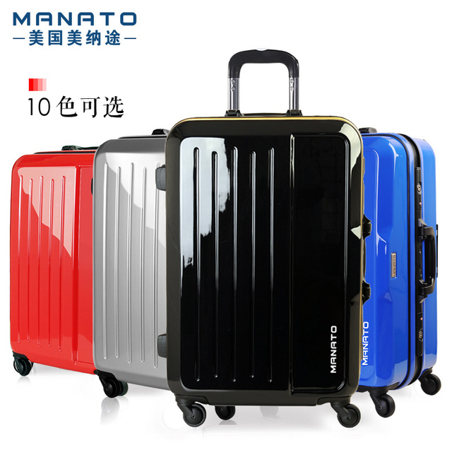 Manato ABS Travel Luggage Sets 20 Inch Unisex Rolling Bagage Suitcase Traveller Case Boarding Box Rolling Wheels Quiet Suitcase