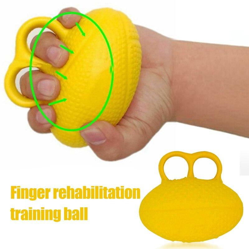 Newly Finger Exerciser Ball Hand Strengthener Squeeze Ball Strengthening Equipment For Arthritis   C55K Sale