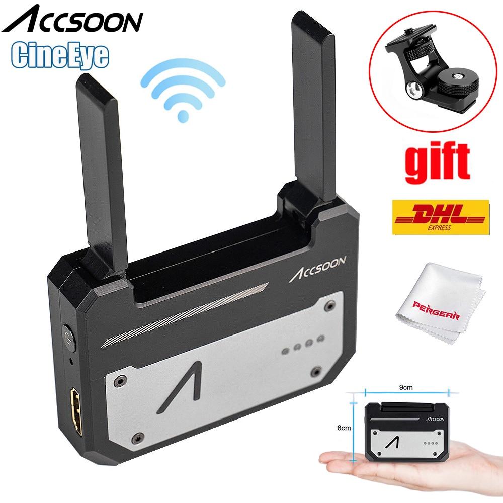 Accsoon CineEye 5G Wireless Video Transmitter System Pocket Transmission HDMI 1080P HD Transmit Up to 100m
