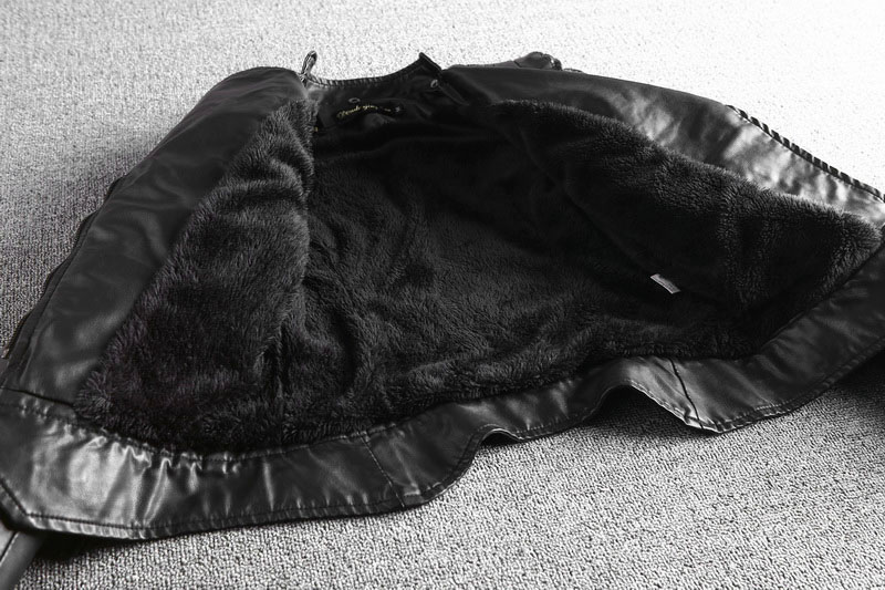 Velvet Section De En Hairless Fur black Noir Cuir Thin Black Femme Slim Court Collar Moto Manteau Automne Vêtements Collar natural Veste Dames Femmes Survêtement 2019 Printemps plus Nouveau Hw5qO1F