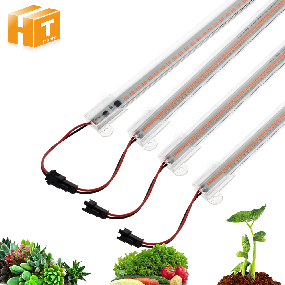 LED Grow Light AC220V 8W High Luminous Efficiency Full Spectrum Grow LED Tube For Plants Growing 50cm / 30cm 72LED 5pcs/lot.