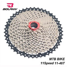 BOLANY Cassete 11 Speed Freewheel 11-46T Wide Ratio Flywheel Sprocket For MTB Mountain Bike Parts Shimano Sram System 450lm 36 led solar powered street light pir motion sensor light garden security lamp outdoor street waterproof wall lights