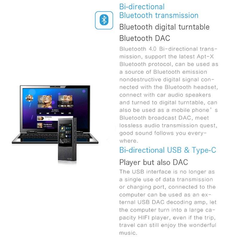 ASD xDuoo X20 Prijenosni USB Bluetooth 4.1 izlaz Lossless DSD DAP HD - Prijenosni audio i video - Foto 6