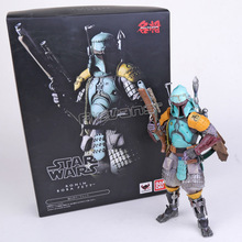 Tamashii Nations Star Wars Ronin Boba Fett PVC Action Figure Collectible Toy