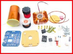 Image 2 - Diyキット30ワットミニ音楽テスラコイルプラズマスピーカーテスラアーク発生器ワイヤレス伝送アンプ