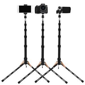 Image 4 - Fosoto FT 140 support de lumière Led trépied Portable pour éclairage photographique Flash parapluies réflecteur Photo Studio appareil Photo téléphone