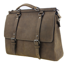 female men's big wax oil leather restro travel Shoulder hand messenger party shopping book school college laptop business Bags