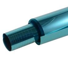 0.5 м * 3 м синий автомобиль боковой Тонировочная плёнка в автомобиль солнечной защиты авто окна тонирование Плёнки