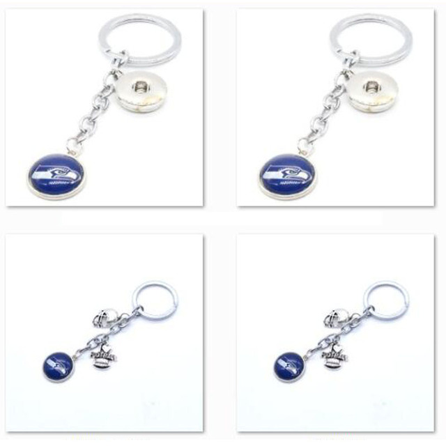 2018 Fashion Football Key Chain Seattle Seahawks Charm Keychain Car Keyring  for Women Men Keyrings Gifts Party Wedding Birthday 4673728c4e6d