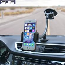 Stjie Универсальный автомобильный держатель телефона длинные руки лобовое стекло автомобиля телефон Подставка для смартфонов телефона iphone