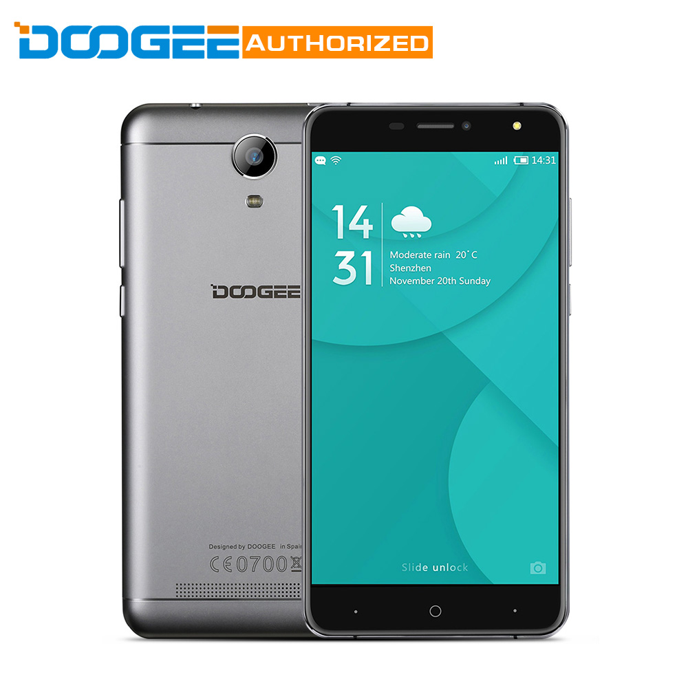 In Stock DOOGEE Y6C 4G Phone Android 6 0 5 5 inch MTK6737 1 3GHz Quad