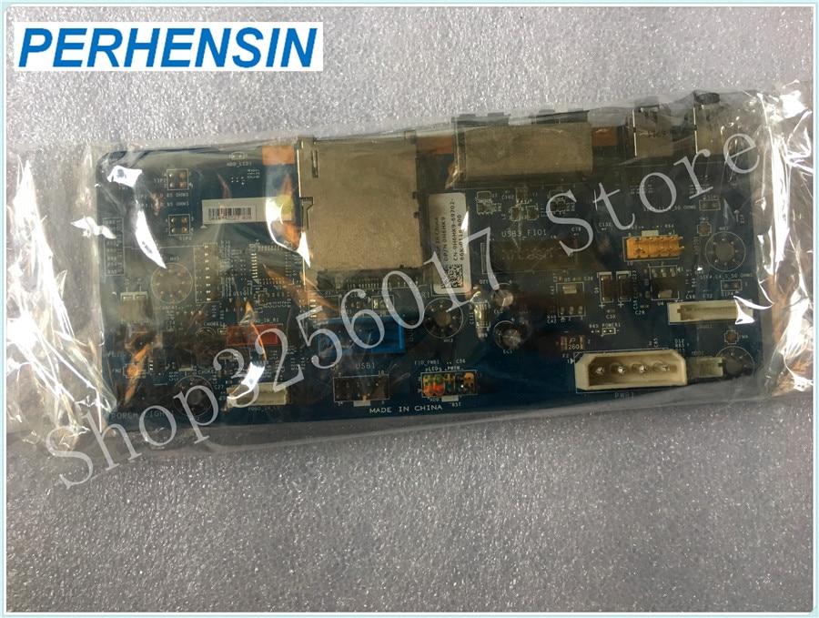 Genuine FOR DELL  FOR Alienware  Area 51 R2 USB Audio I/O Card Reader Board H6HK9 0H6HK9 genuine for dell opt 790 990 usb board audio board g3xvd cn 0g3xvd
