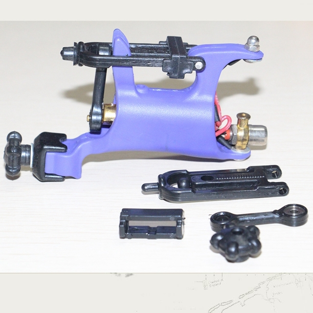 Newest Butterfly Shader Liner Rotary Tattoo Machine Kit Purple Multi Function Dragonfly Rotary Tattoo Machine  Swashdrive Whip
