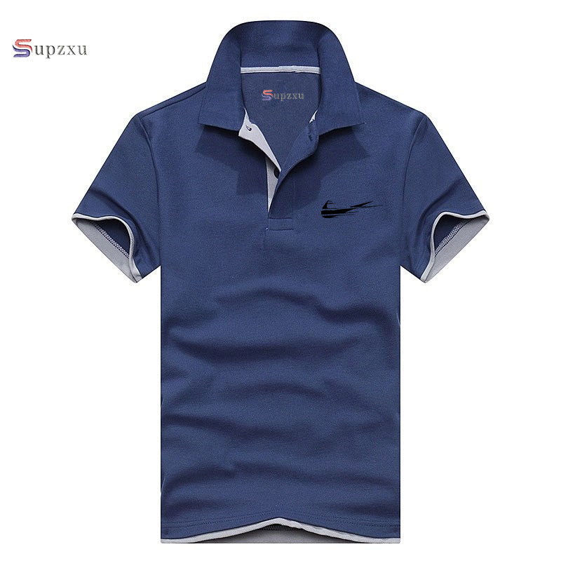 2019 Newest design Cotton Funny   polo   Shirt Business & Casual solid male   polo   shirt Short Logo Print Sleeve breathable   polo   shirt