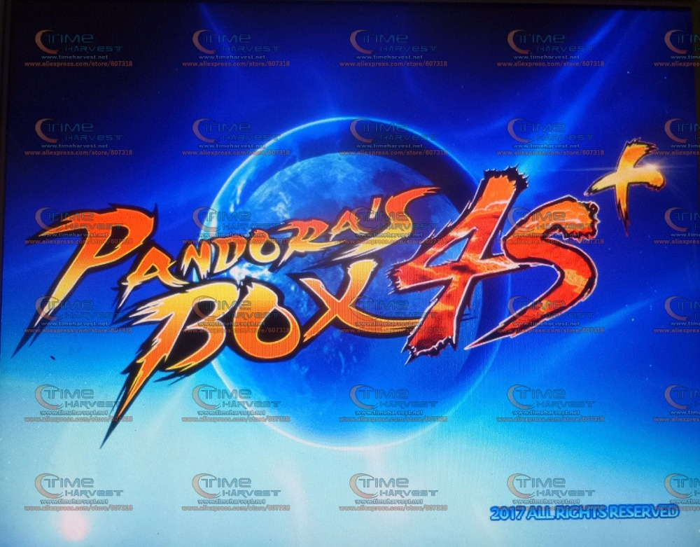 2017 New Arrival 815 in 1 multi games Pandora Box 4 plus upgraded version for Coin operation LCD VGA HDMI monitor arcade cabinet new arrival 520 in 1 multi game board the new upgraded version just another pandora s box 3 cga
