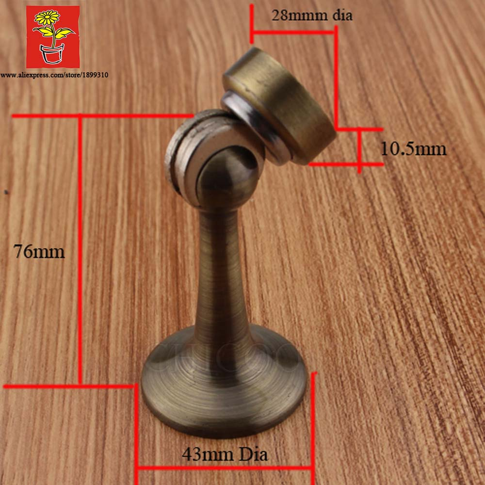 Brass Antique Brass Industrial Door Magnetic Catch Door Stopper Wall Door  Stop Magnetic Door Holder In Door Stops From Home Improvement On  Aliexpress.com ...