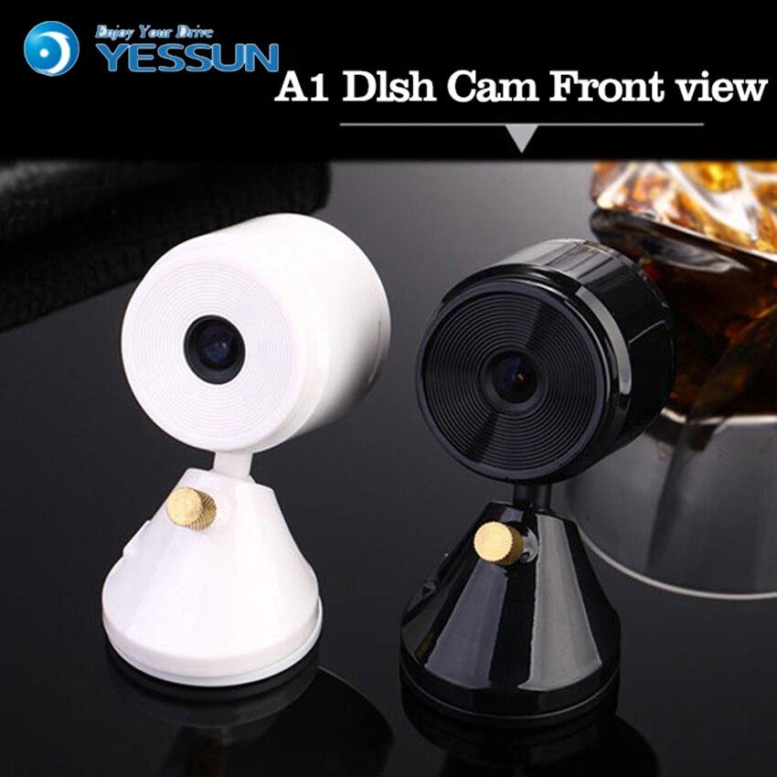 Alnsa Mini Car Camera Dvr Full HD 1080P Wireless WiFi Dual Camera Dash Cam Parking Monitor  Vision Nocturne Wide-angle Cam