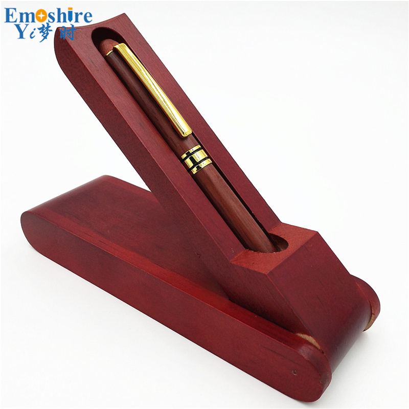 Wooden Craft Ballpoint Pen Classic Wooden Hand carved Fountain Pens Creative Stationery Wood Ballpoint Pen for
