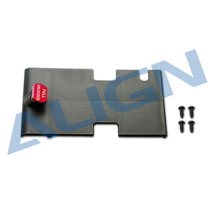 ФОТО  (2Packs/Lot)Align T-rex 500L Brushless ESC Mounting Plate Set Align T-rex 500L Helicopter Parts H50B007XXW