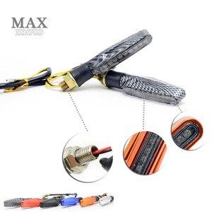 Image 1 - Motorcycle LED Turn Signal Indicators Lights Universal flashers motocross light for yamaha YZF R1 2009 2014 2010 2011 2012 2013