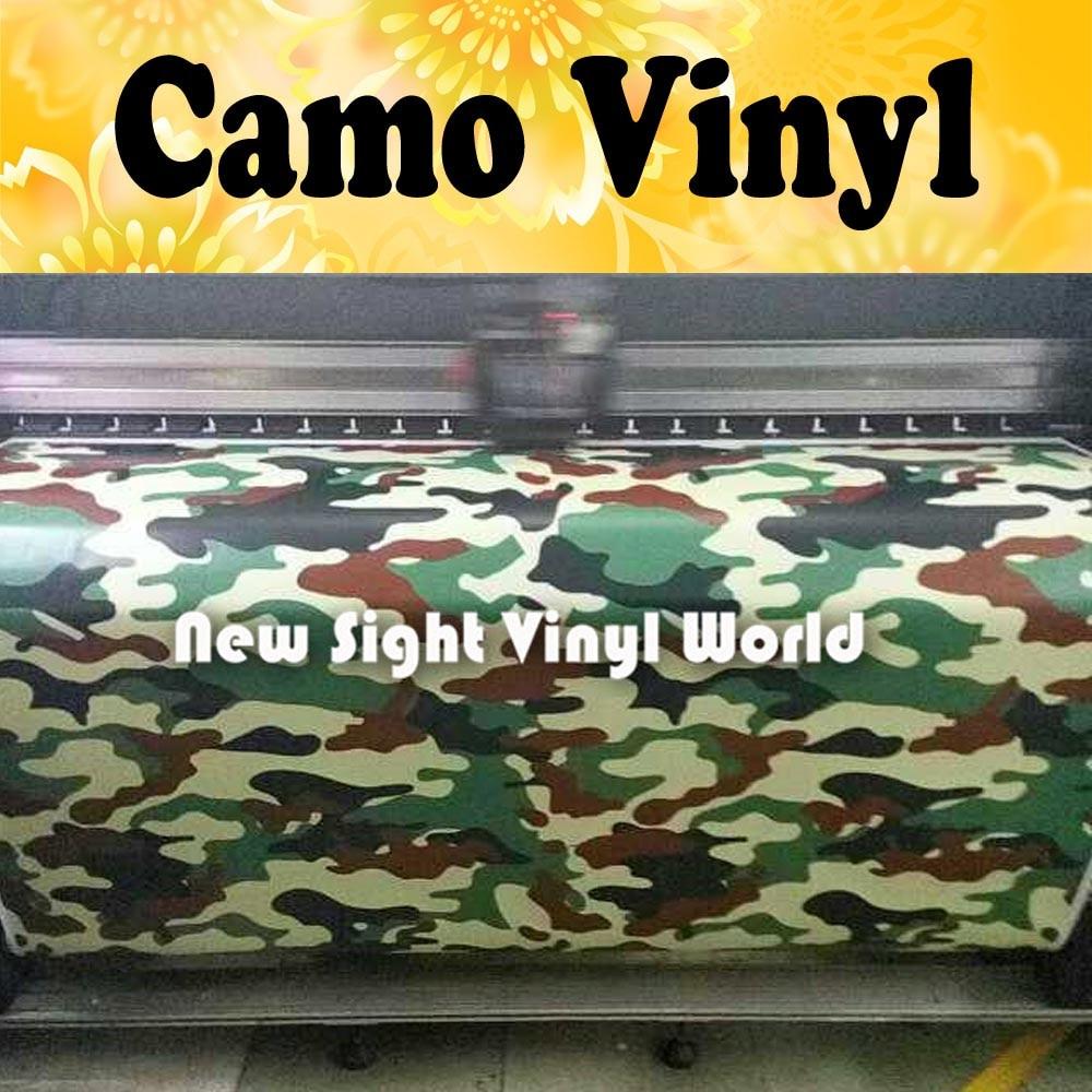 Brown Green URBAN Camouflage Vinyl Wrap Woodland Camo Vinyl Sheet Bubble Free Vehicle Wrap Size:1.50*30m/Roll