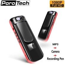 IDV009 Mini Micro Camera HD 1080 P Video Voice Recording Pen Camera met MP3 Speler 180 Graden roterende Mini DVR camera Camcorder
