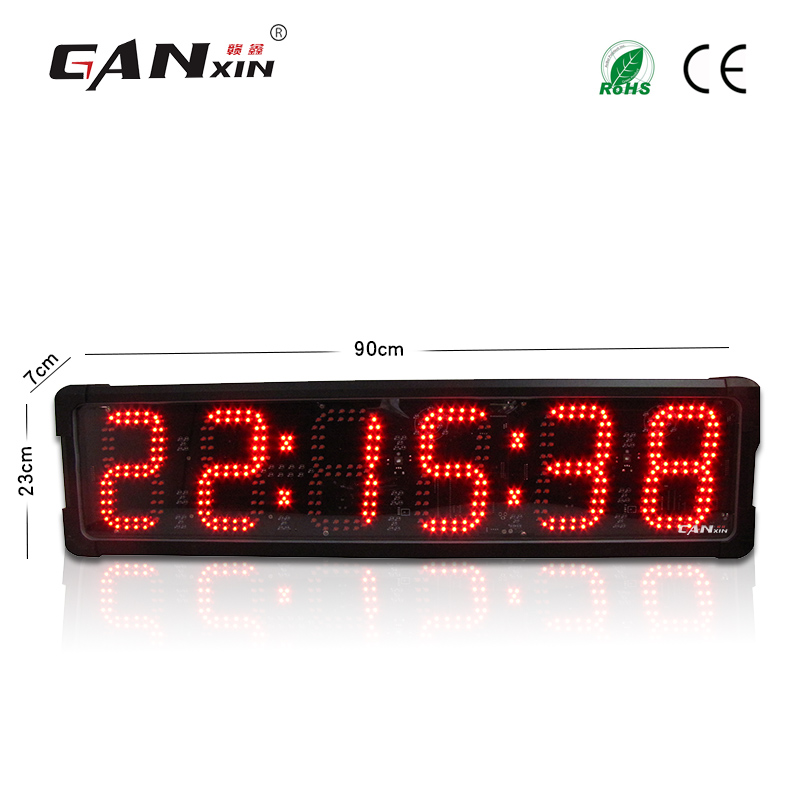 Ganxin Multi Color Hot Selling Marathon Timer Led