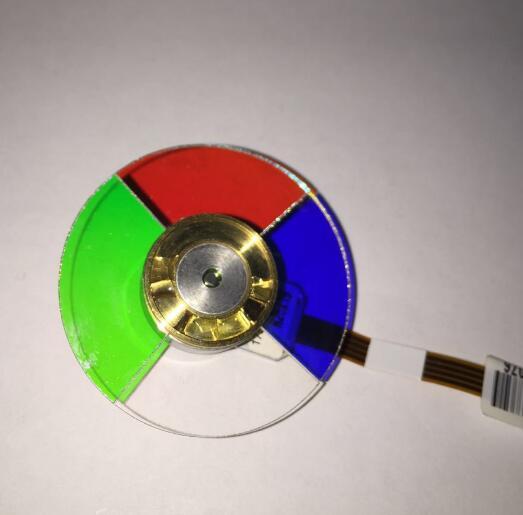 100% new EP738 EP739 EP756 projector color wheel 4 segment 44mm projector color wheel 4 segments for the projector of optoma ep728 ep739 ep755 ep758 ep756