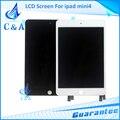 1 unidades de prueba de reparación de piezas de 7.9 pulgadas de pantalla lcd completa para ipad mini 4 a1538 a1550 original de reemplazo envío gratis