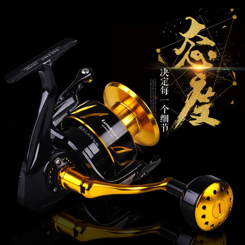 LUREKILLER JAPAN MADE FULL METAL SPINNING JIGGING REEL SALTIST CW3000-10000 SALTWATER SPINNING REEL