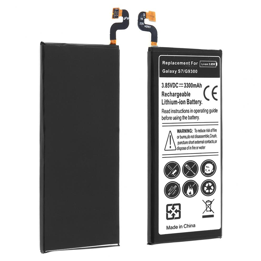 3.85V 3300mAh Mobile Cell Phone Rechargeable Li-ion Replacement Battery for Samsung GALAXY S7 G9300 G930F G930A G9308 SM-G9300