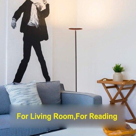 para sala estar luminaria quarto lampada pe