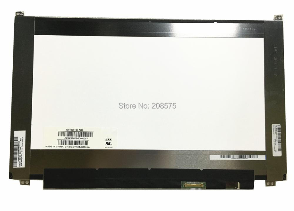 все цены на Free Shipping NV133FHM-N43 NV133FHM N43 Laptop Lcd Screen EDP 30 pins 1920*1080 IPS онлайн