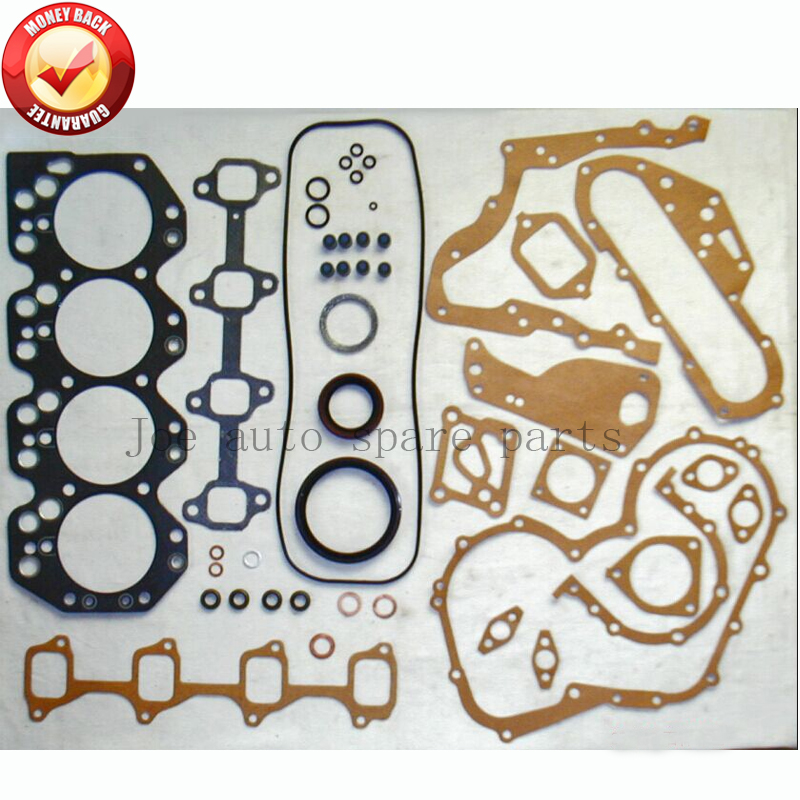 <font><b>3B</b></font> 13B <font><b>Engine</b></font> Full gasket set kit for <font><b>Toyota</b></font> Land cruiser/ Bandeirante/ Dyna 3432cc 3.4D 1977-87 50134500 0411158010 0411158013 image