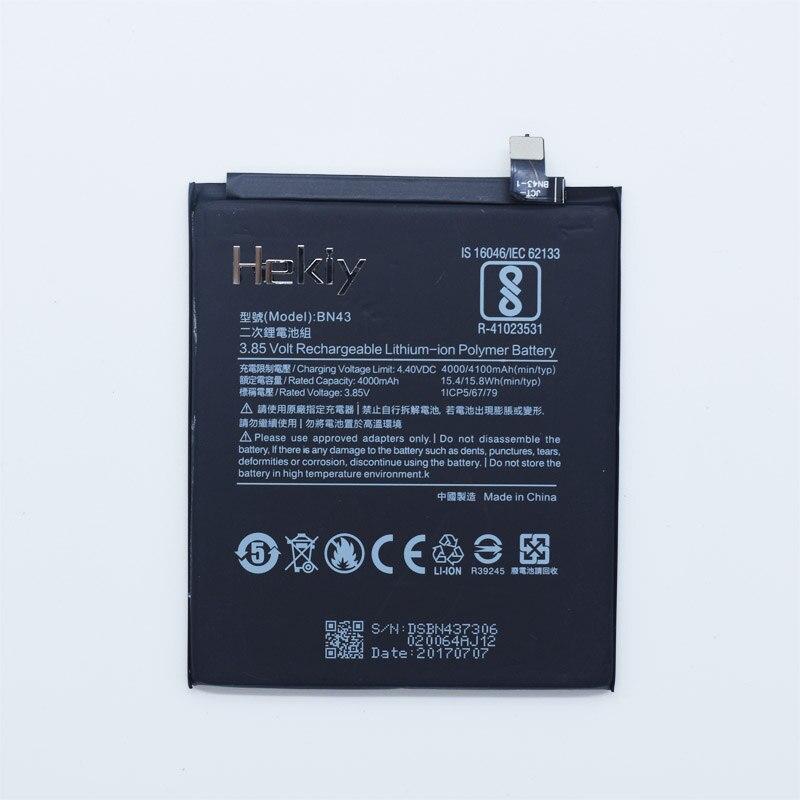 Hekiy Telefon Batterie BN43 Für Xiaomi Redmi Hinweis 4X Hongmi Note4X 4100 mAh Original Ersatz Bateria Lithium-polymer-batterien