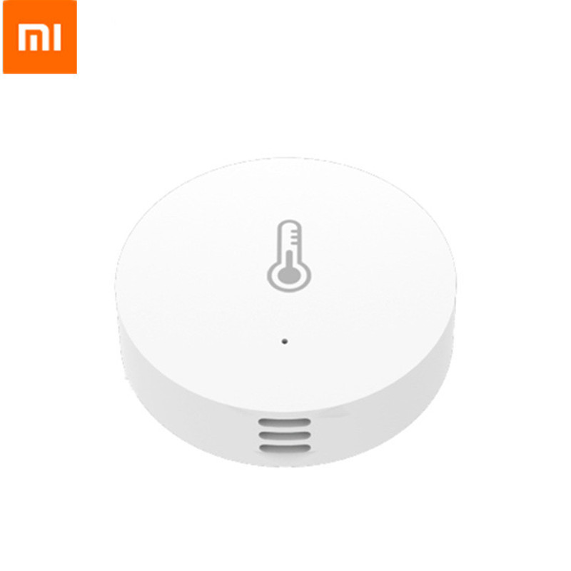 Original Xiaomi Mijia Smart Temperature And Humidity Sensor Real-time Monitoring With Android IOS Mi Home APP For Smart Home
