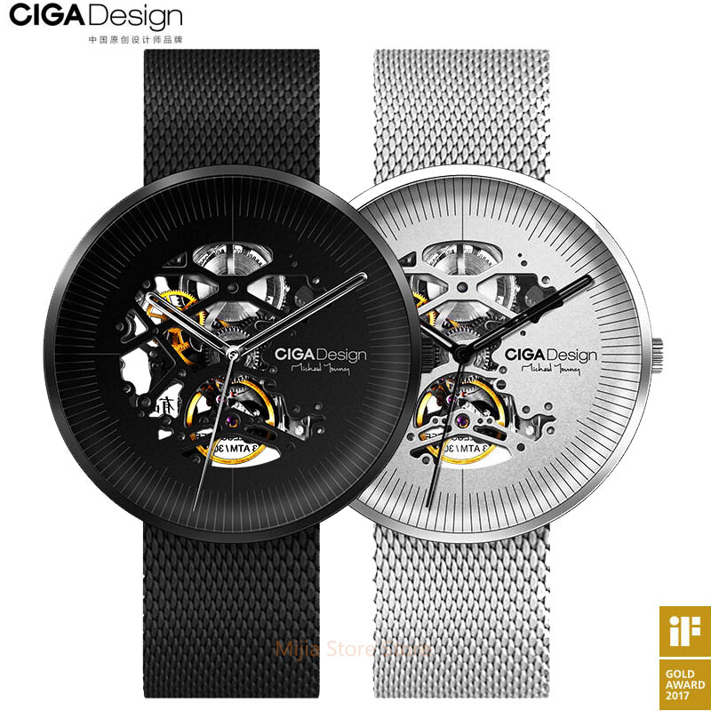 Original Xiaomi Mijia CIGA MY Series Design Mechanical Wristwatches Mechanical watches Men Women iF Design Gold Award H20-in Smart Remote Control from Consumer Electronics