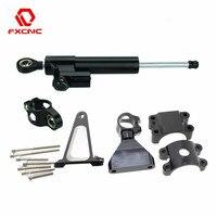 For Honda CBR600 F4i CBR 600 1999 2004 2000 2001 2002 2003 CNC Motorcycle Steering Damper Stabilize Bracket Mounting Kit Support