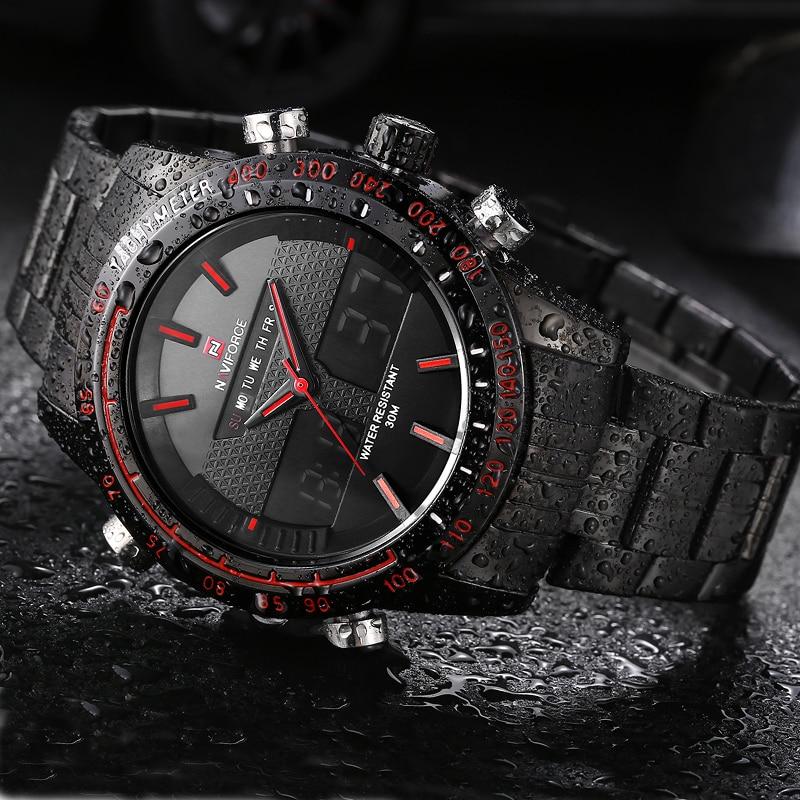 NAVIFORCE herenhorloges topmerk luxe casual quartz horloge mannen - Herenhorloges - Foto 2